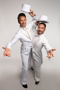 Ian Waite and Vincent Simone archive