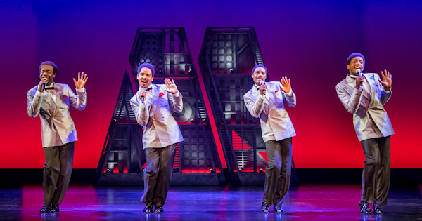 Motown the Musical. Photo by Tristram Kenton