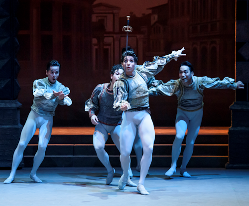 ENB Cesar Corrales in Romeo and Juliet - Photo by Bill Cooper