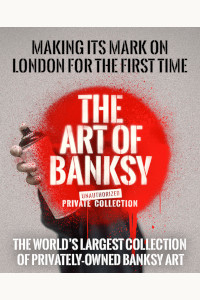 Tickets for The Art of Banksy (General, Inner London)