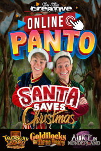 Santa Saves Christmas - Online Panto