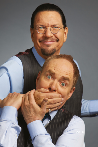 Penn and Teller at Eventim Apollo, West End