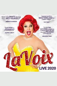 La Voix - The UK's Funniest Red Head tickets and information