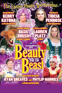 Beauty and the Beast at Whitley Bay Playhouse, Whitley Bay