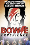Bowie Experience tickets and information