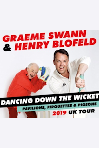 Tickets for Graeme Swann & Henry Blofeld - Dancing Down the Wicket (Lyric Theatre, West End)