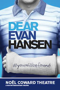 Tickets for Dear Evan Hansen (Noel Coward Theatre, West End)