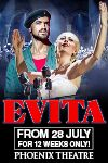 Evita tickets and information