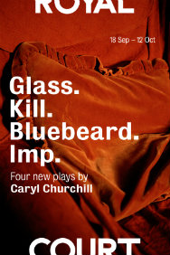 Glass. Kill. Bluebeard. Imp.