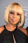 Mary J Blige at Kew Gardens, Outer London
