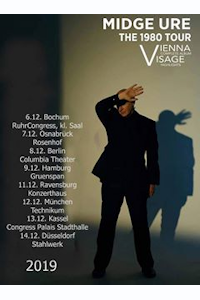 Tickets for Midge Ure - Vienna & Visage the 1980 tour (London Palladium, West End)