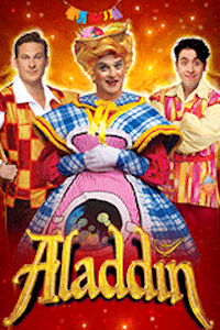 Aladdin at New Wimbledon Theatre, Outer London