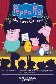 Tickets for Peppa Pig - My First Concert (Southbank Centre, West End)