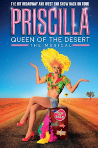 Priscilla - Queen of the Desert at New Wimbledon Theatre, Outer London