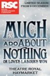 Tickets for Much Ado About Nothing (or Love's Labour's Won) (Theatre Royal Haymarket, West End)