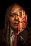 Reginald D Hunter at Alexandra Palace, Outer London