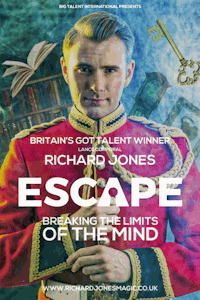 Richard Jones - Escape Tour tickets and information