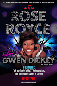Rose Royce ft Gwen Dickey at Medina Theatre, Newport