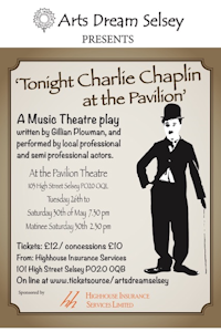 Tonight Charlie Chaplin at the Pavilion