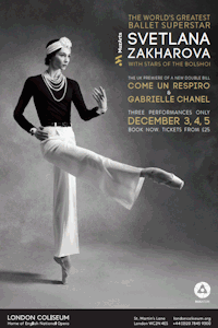 Tickets for Svetlana Zakharova - Modanse (London Coliseum, West End)