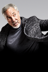 Tom Jones at QEII Arena, Telford