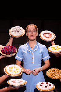 Waitress at Cliffs Pavilion, Southend-on-Sea