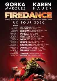 Firedance at Cliffs Pavilion, Southend-on-Sea