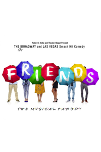 Friends! The Musical Parody at Baths Hall, Scunthorpe
