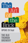 Tickets for The Art of The Brick (Exhibition) (General, Inner London)